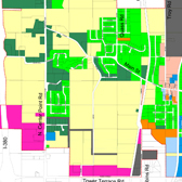 Robins Zoning Map